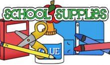 Pre-Packaged School Supply Kits!