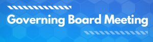 Governing Board Meeting Dates
