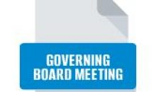 Governing Board Meeting – March 11, 2021 at 5:30 pm