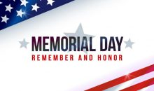 Memorial Day – Monday, May 27, 2019 – No School