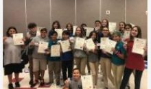 Middle School Drama – Congratulations Thespians!