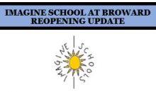 School Reopening Update