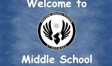 Welcome to Middle School 2021-2022 School Year